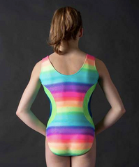 1148 Motionwear Gym Circle Tank Leotard