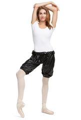10849W Capezio Perspiration Warm Up Shorts