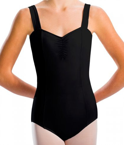 Motionwear Ladies Wide Strap Princess Seam Leotard Long 2720L