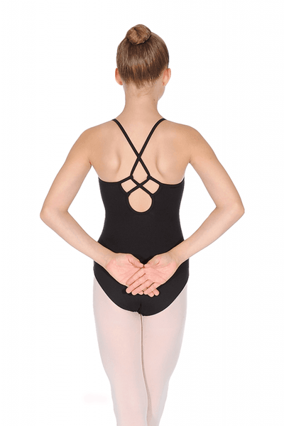 TWL5565 Bloch Zora Embroidered Camisole Leotard Bodysuit (Tween)