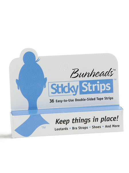 BH365U Double-Sided Sticky Strips™ Hold Straps in Place