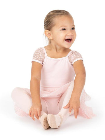11684C Capezio Sweet Pea Raglan Sleeve Dress - Girls