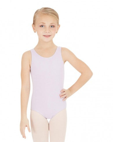 CC201C Capezio Girls High Neck Tank Leotard