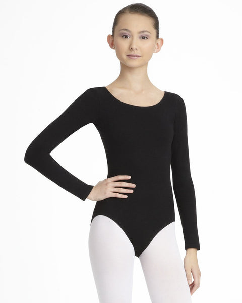 Capezio Girls Long Sleeve Leotard CC450C