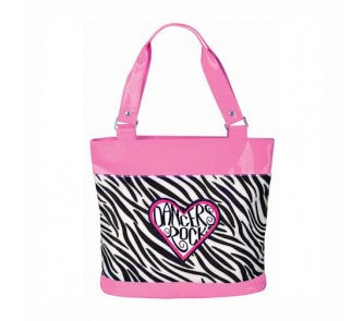 Danshuz Dancers Rock Zebra Tote Bag B522