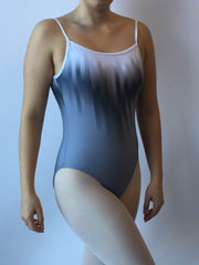 Motionwear 4237 Grey Sublimated Cami Leotard Bodysuit