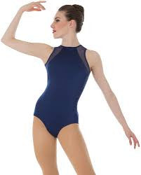 Body Wrappers Children's Power Slit Back Leotard P1006