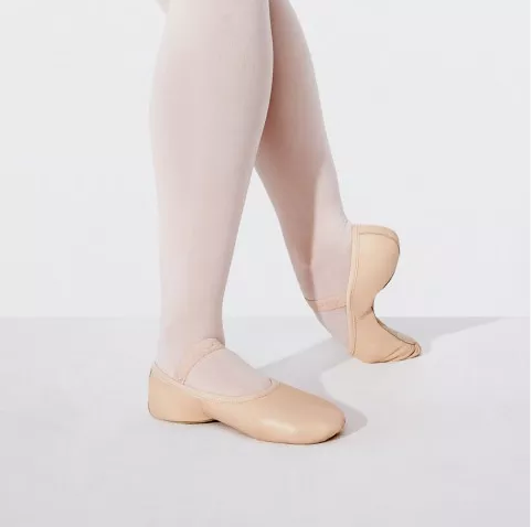 Capezio Children's Lily Leather Ballet Slipper 212C