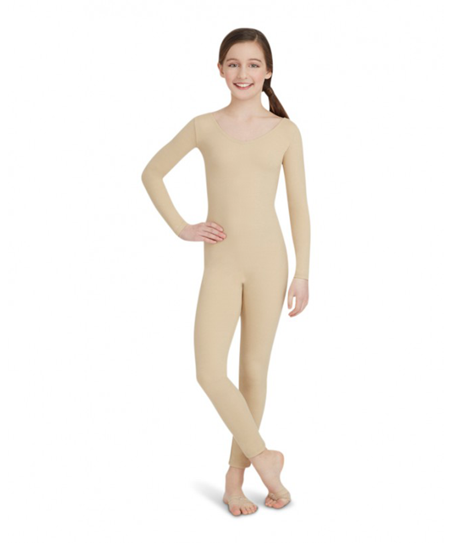 Capezio Children's Long Sleeve Unitard TB114C