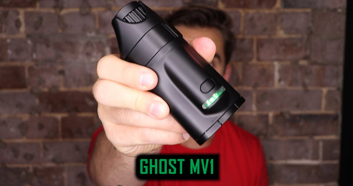 Ghost MV1 Review & Vaporizer Tutorial