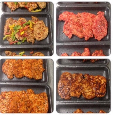 3 fresh extra lean pork steaks(select flavour of choice)