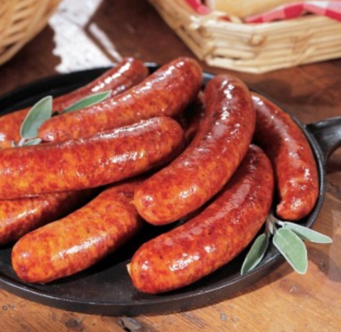 1.1 kg fresh hot & spicy sausage