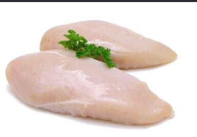 4 large fresh chicken breast(approx 900g)