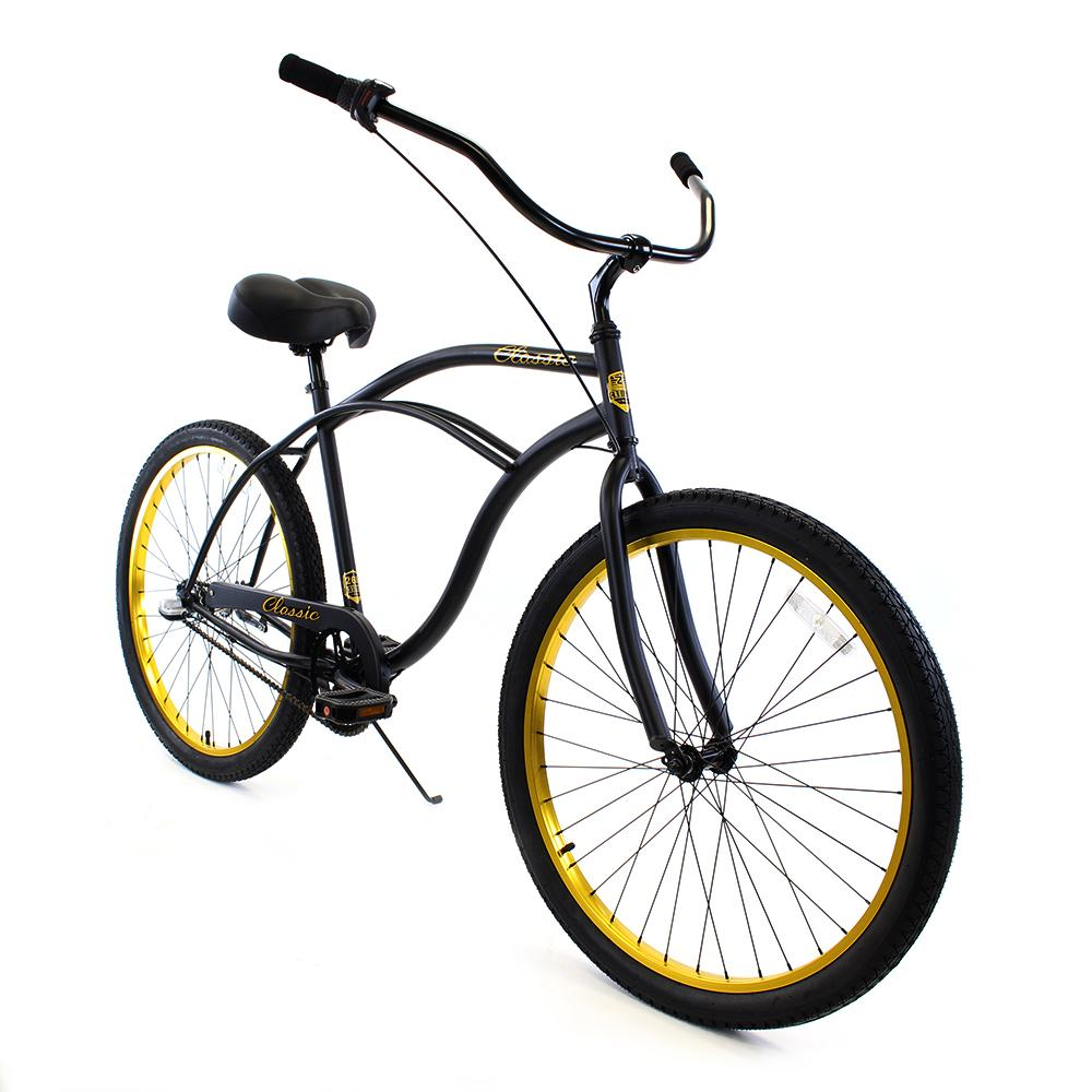 ZF Bikes - Classic Men - 3spd - Black Gold