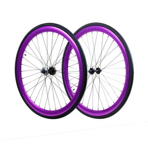 45mm Wheelset - Purple Anodized