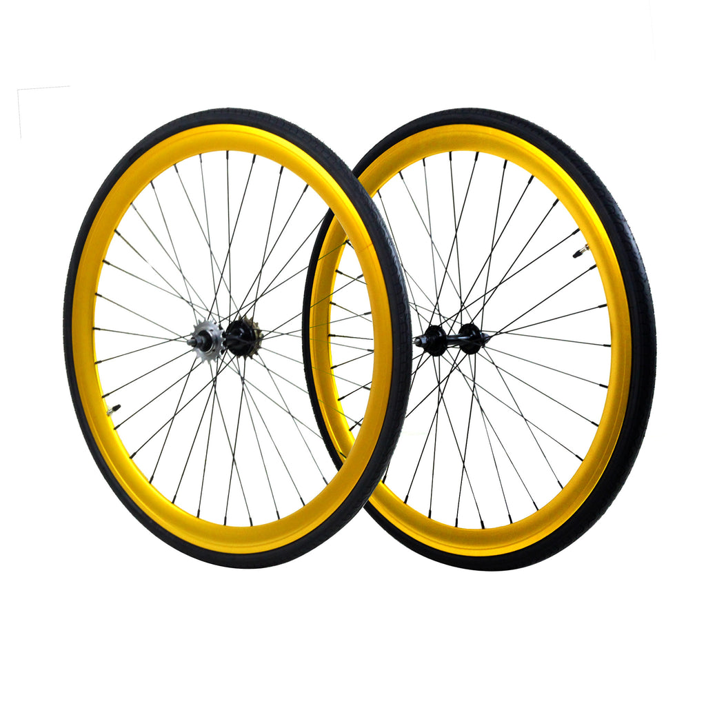 45mm Wheelset - Gold Anodized