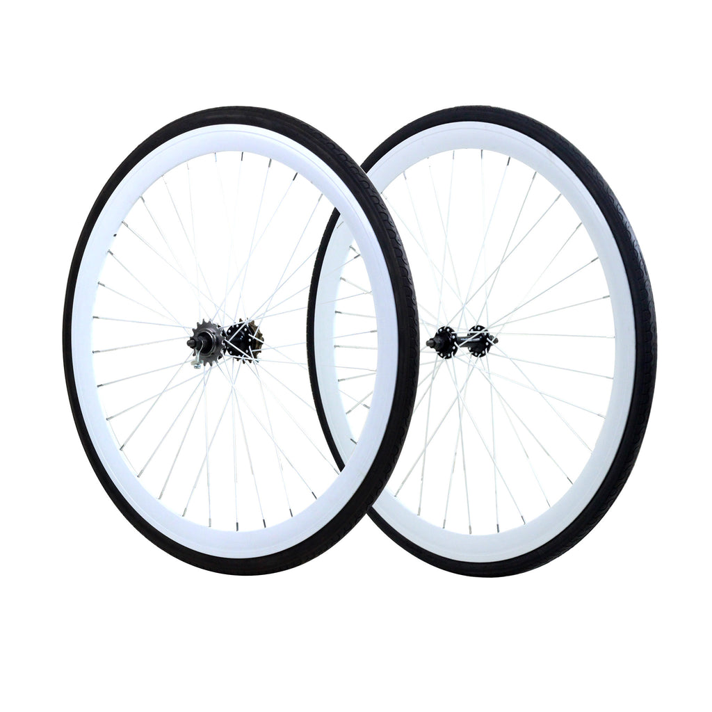 45mm Wheelset - White