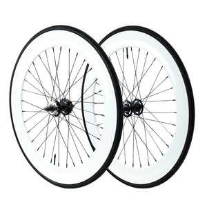 70mm Wheelset - White