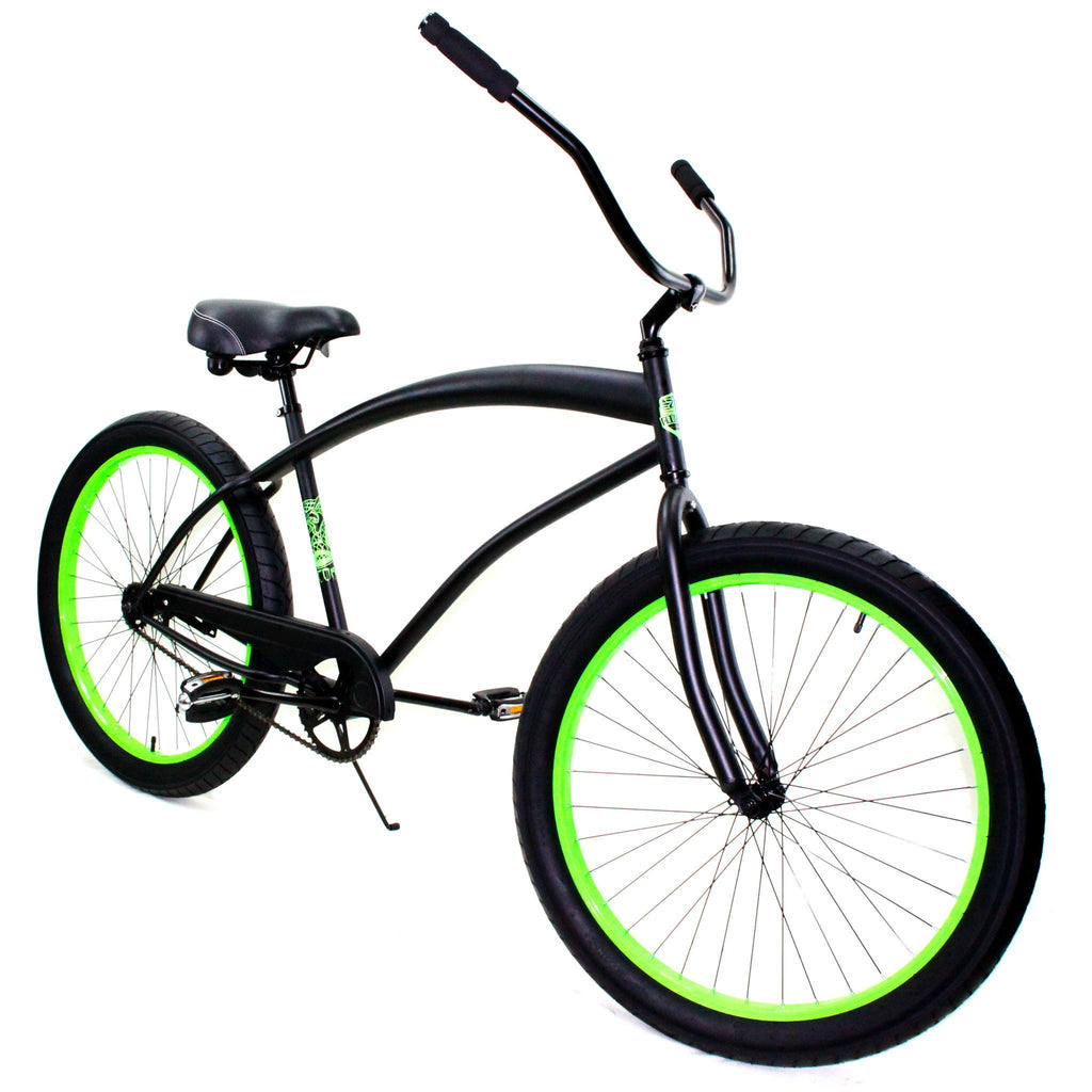 ZF Bikes - Cobra - Black / Neon Green