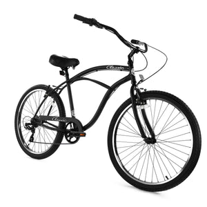 ZF Bikes - Classic Men - 7spd - Black Matte