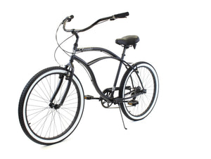 ZF Bikes - Classic Men - 7spd - Black