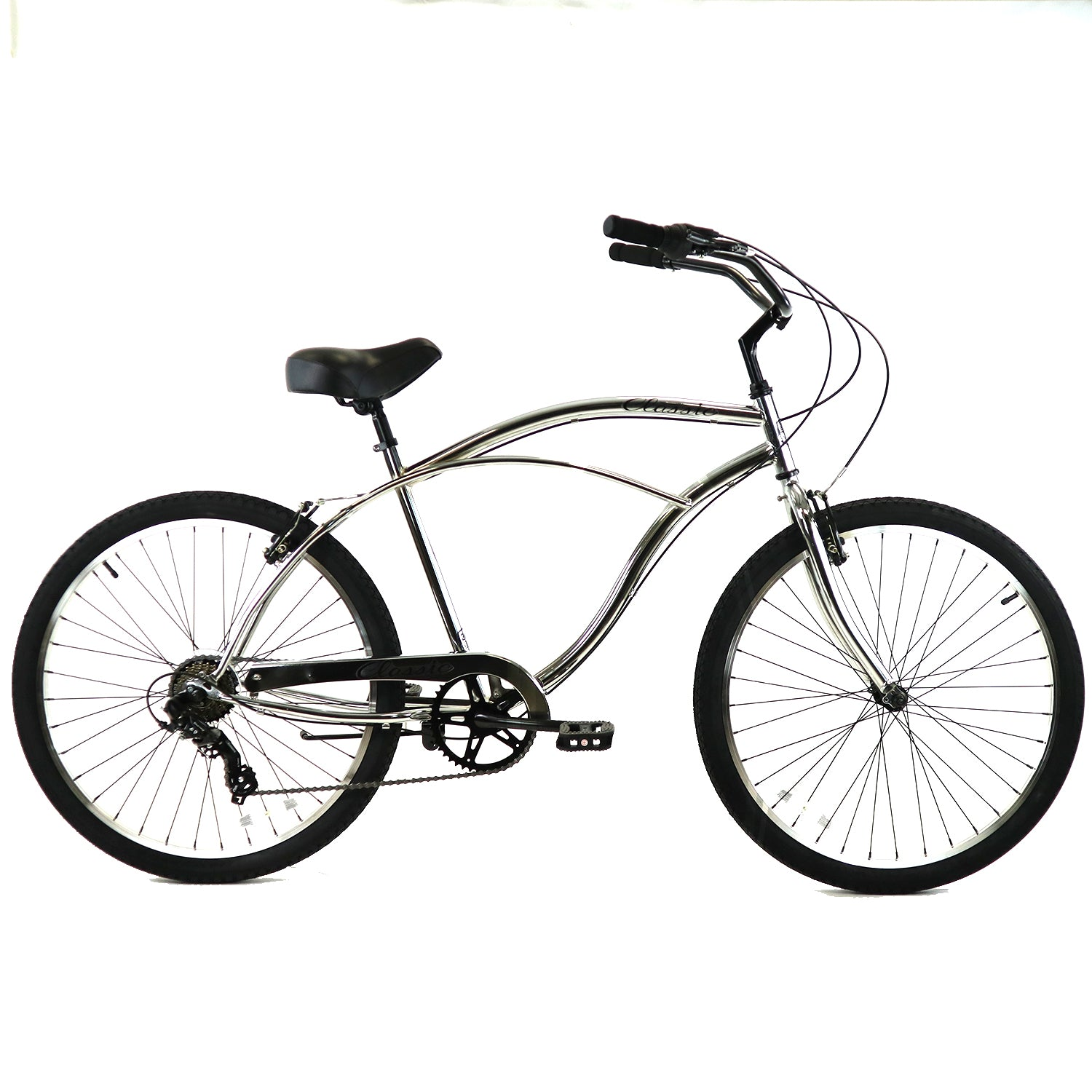 ZF Bikes - Classic Men - 7spd - Chrome