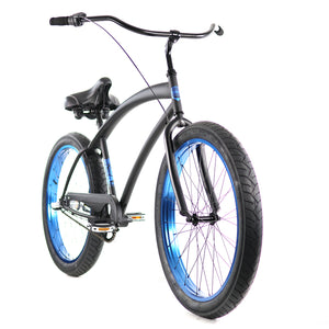 ZF Bikes - Cobra - 3spd - Black Blue