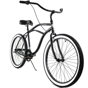 ZF Bikes - Classic Men - 3spd - Black White