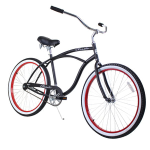 ZF Bikes - Classic Men- Black Red