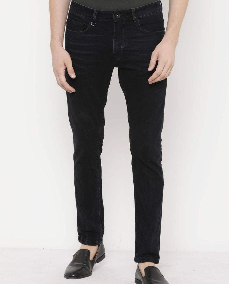 Tinter-Denim Pants-Navy Blue DENIM PANT RARE RABBIT