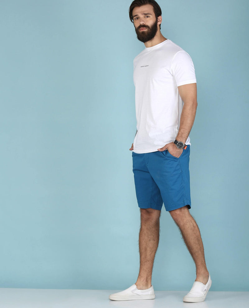 Topaz-Casual Shorts-Blue