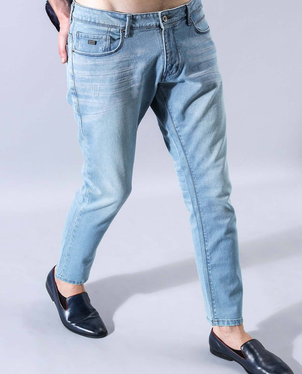 PEDRO- DENIM PANTS- BLUE DENIM PANT RARE RABBIT