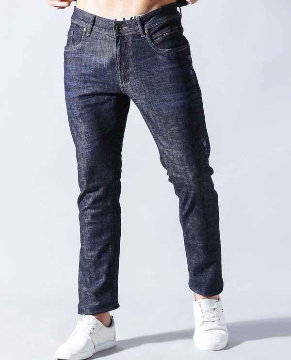 RADO- DENIM PANTS - BLUE DENIM PANT RARE RABBIT