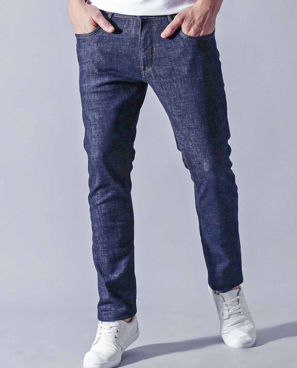 RADO-RAW- DENIM PANTS - BLUE DENIM PANT RARE RABBIT