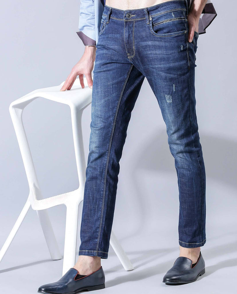 VIRGO-Denim Pant-BLUE DENIM PANT RARE RABBIT