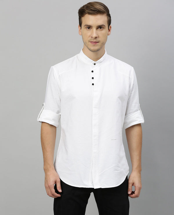 ELAS -SHIRT KURTA- WHITE KURTA RARE RABBIT