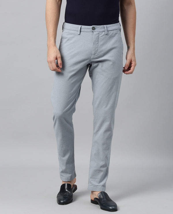ESTER-2 TROUSER/CHINO-BLUE TROUSERS RARE RABBIT