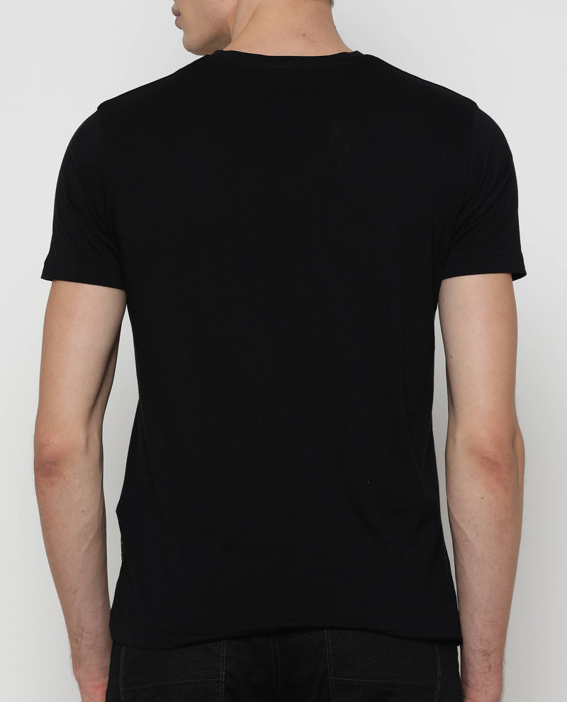 Rare & Calm-2-Graphic T-shirt-Black