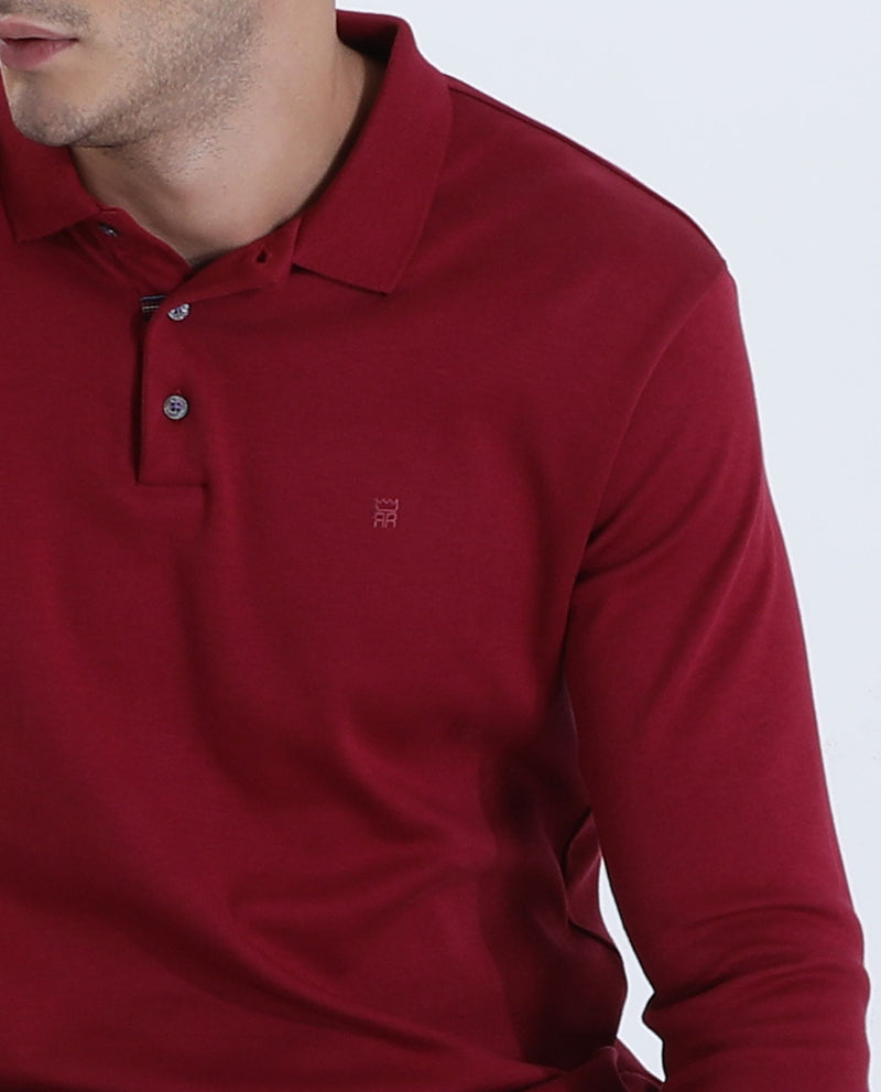 Polo-yy-Polo T-shirt-Red