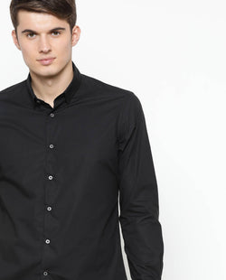 Special-Solid Shirt-Black