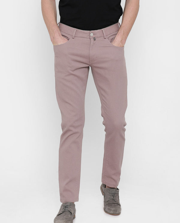 Spock2-5 pocketr-Pink TROUSERS RARE RABBIT