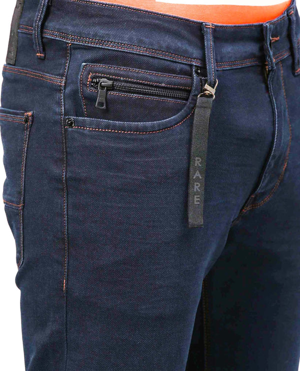 CAVALRY-DENIM PANTS- NAVY DENIM PANT RARE RABBIT