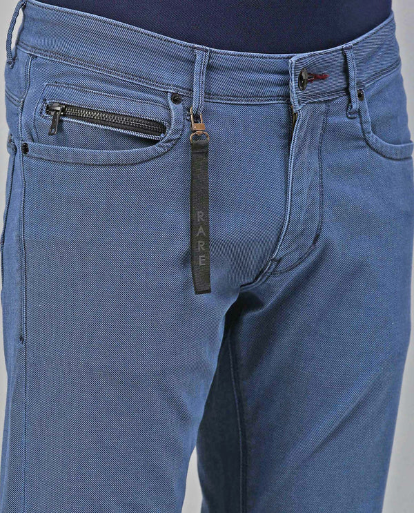 CAVALRY-DENIM PANTS-LIGHT BLUE DENIM PANT RARE RABBIT