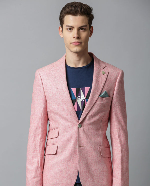 BOSCO-DARK PINK BLAZER RARE RABBIT
