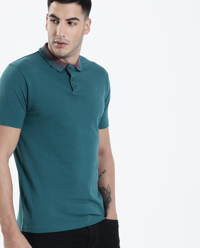Sprinkle-2 -Polo T-shirt-Green