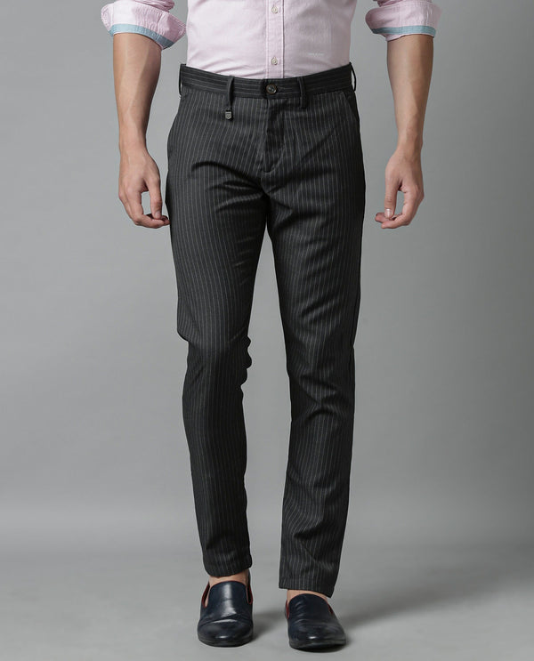 THOMAS-STRIPED TROUSER-GREY TROUSERS RARE RABBIT