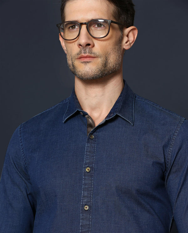 Always-Basic Shirt-Navy