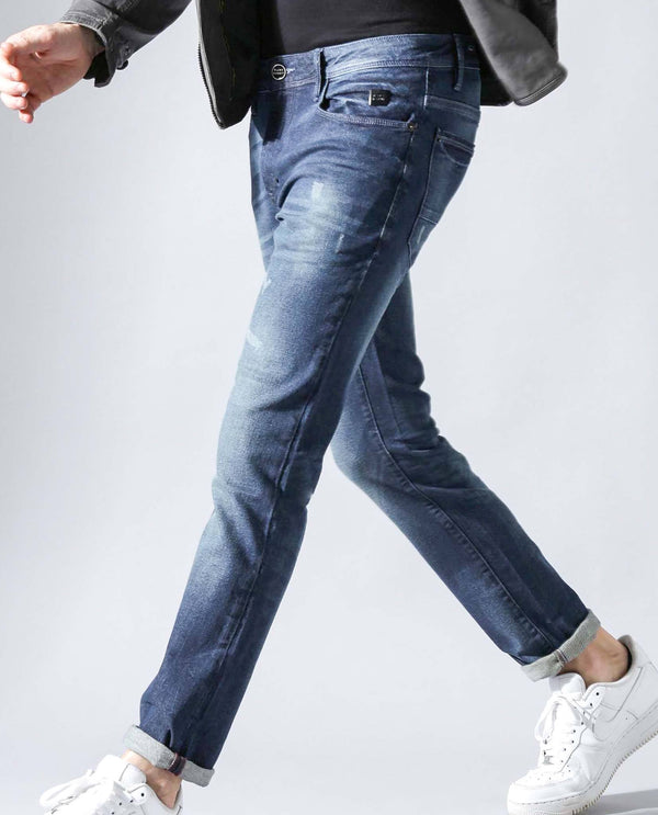 DAVID-2-DENIM PANTS- BLUE DENIM PANT RARE RABBIT