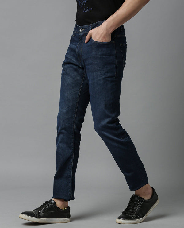 DUSK-DENIM PANTS-NAVY DENIM PANT RARE RABBIT