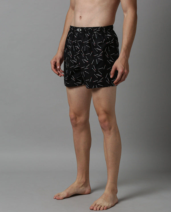 BOX-MENS COMFORT BOXERS-STICK BOXER RARE RABBIT